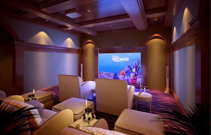 别墅设计,室内效果图